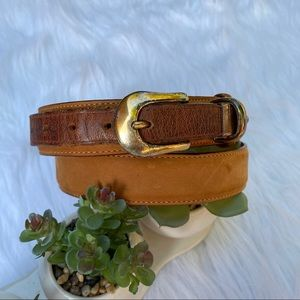 Timberland Casual Distress Genuine Leather Belt 34